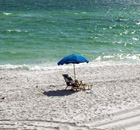 Beach umbrella Scenic Gulf Drive