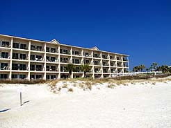 Windancer 101 Nice 1BR/2BA sleeps 4 beach front! No roads to cross!